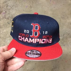 NEW Boston Red Sox World Series Champs Hat